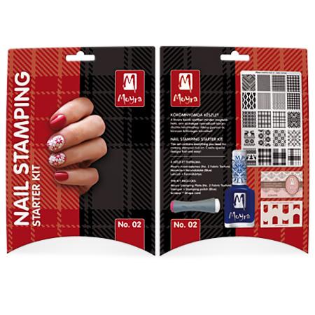 Moyra Stamping Starter Kit 02 Fabric Texture