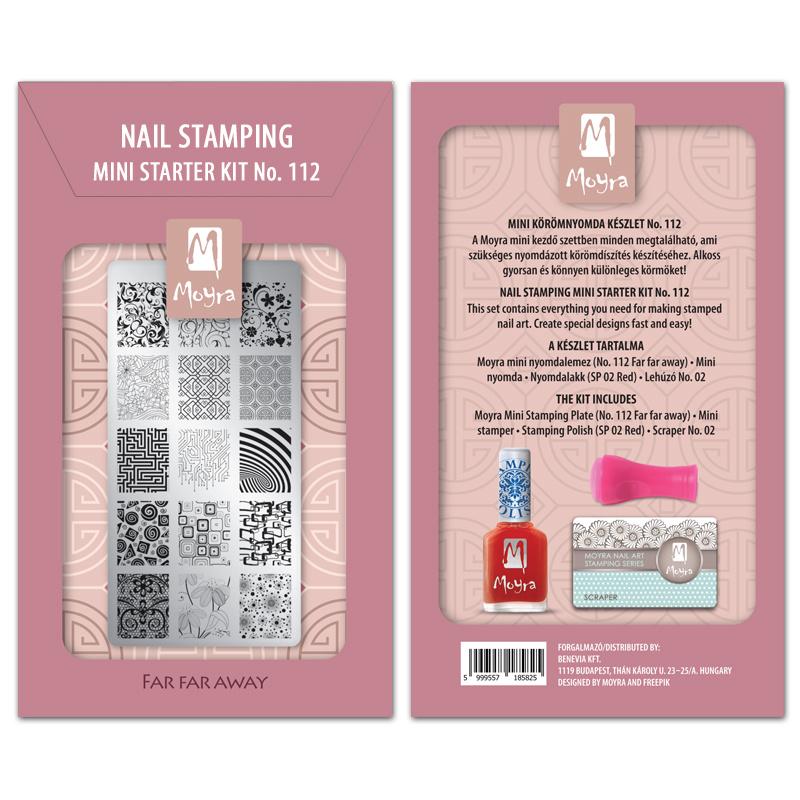 Moyra Mini Stamping Starter Kit 112 Far Far Away