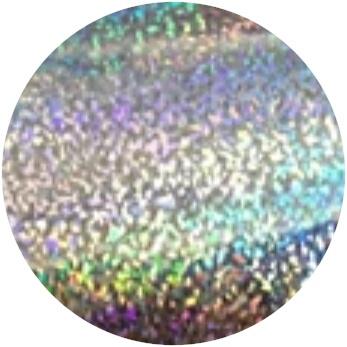 PNS Foil Glitter Silver Grof 2