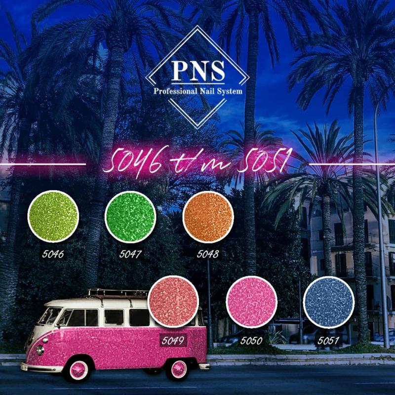 PNSgelpolish Set 5046 t/m 5051