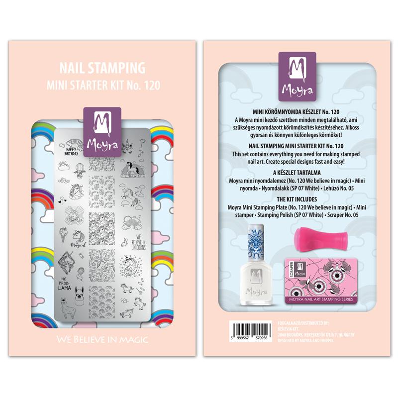 Moyra Mini Stamping Starter Kit 120 We Believe In Magic