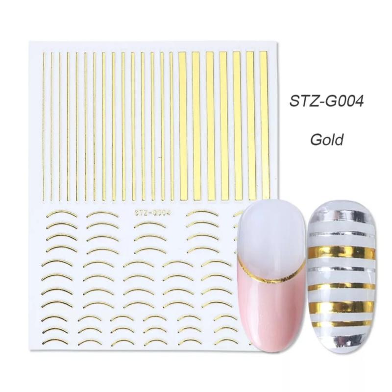 Sticker STZ-G004 goud