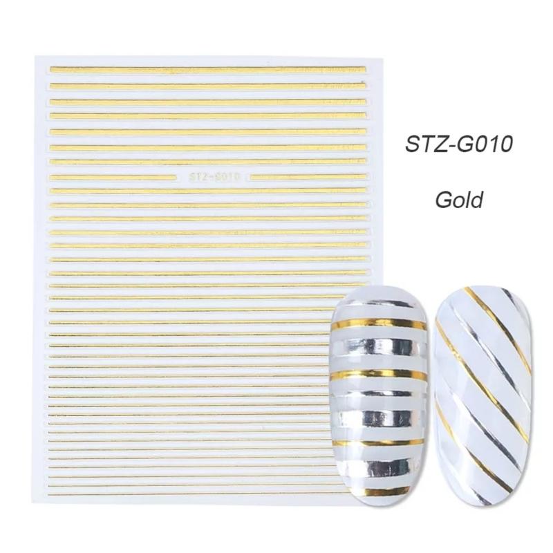 Sticker STZ-G010 goud