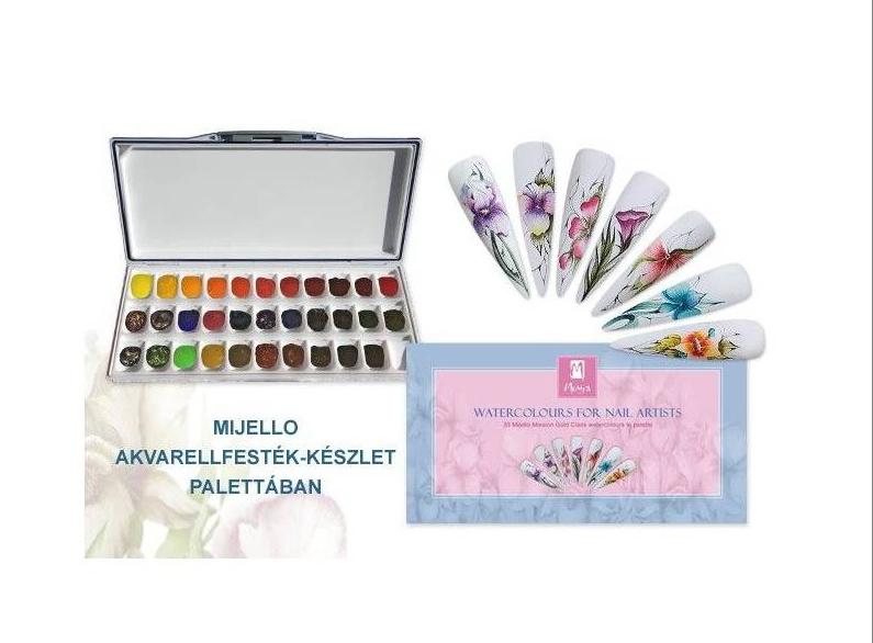 Moyra 33 Mijello misson watercolours palette