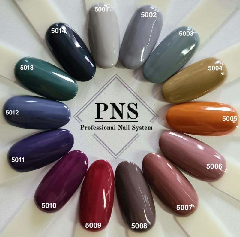PNSgelpolish Set 5001 t/m 5014
