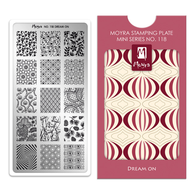 Moyra Mini Stamping Plate 118 Dream On