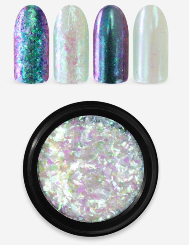 Moyra Rainbow Flakes green