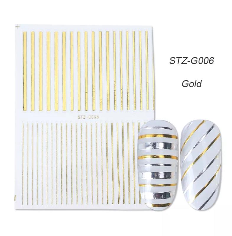 Sticker STZ-G006 goud