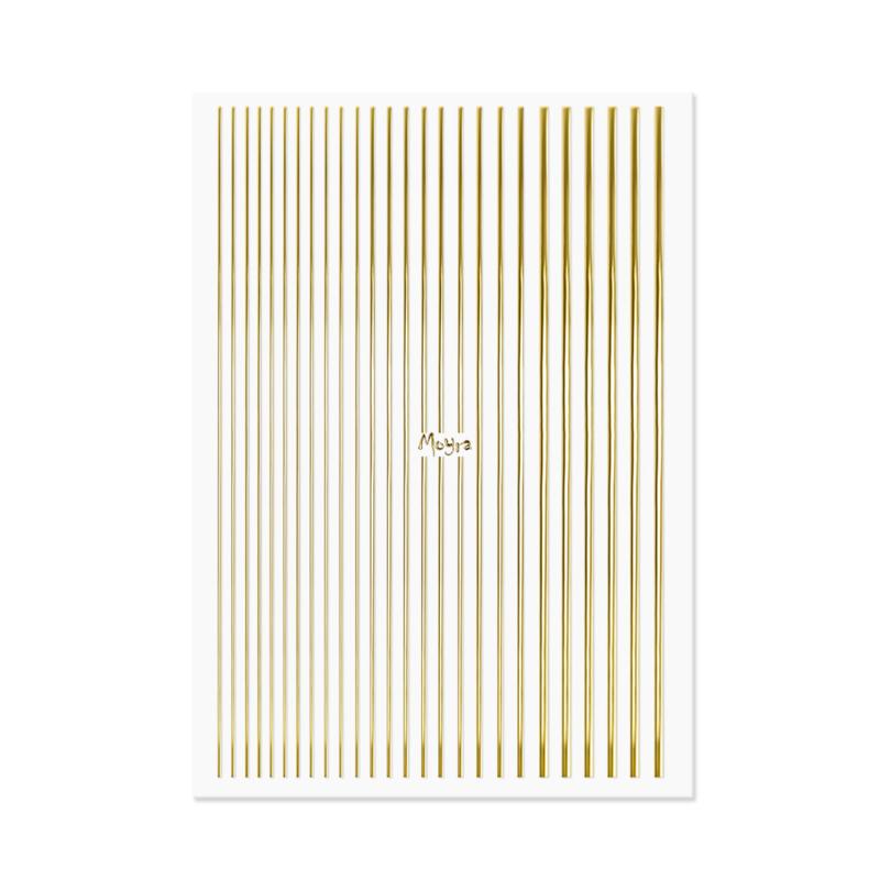 Moyra Nail Art Strips 01. Gold