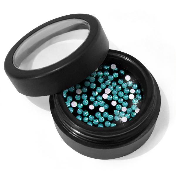 Moyra Crystal Stones No.09 SS4 Blue Zircon