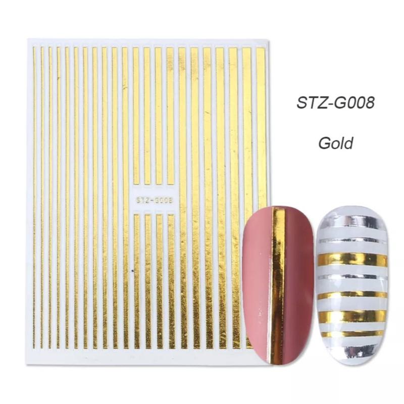 Sticker STZ-G008 goud