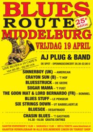 Polsbandje Bluesroute Middelburg