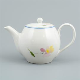 Flora castle teapot Ruby