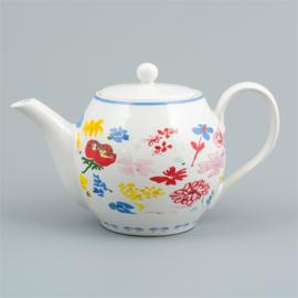 Flora castle teapot Gwen