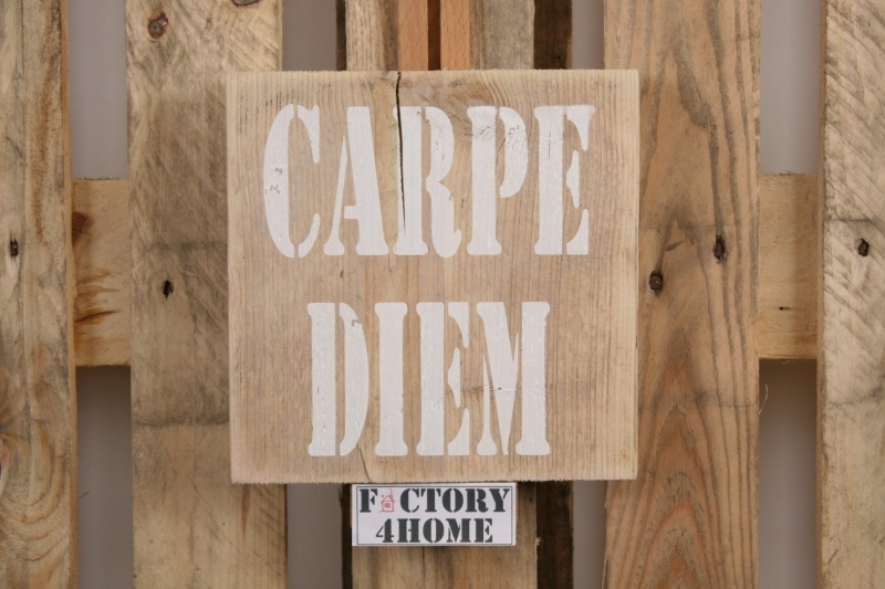 Spreukbord Carpe Diem