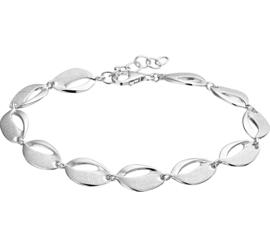 Zilveren armband  dames 18 + 2,5 cm