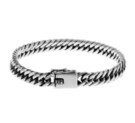 Zilveren armband gourmet 18-21 cm x 7 mm