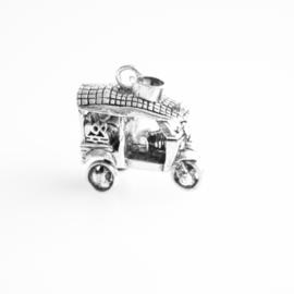 Zilver bedel tuktuk
