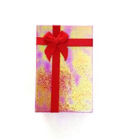 Cadeauverpakking: rood schitterend doosje 50 x 800 mm