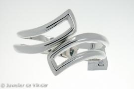 Zilveren armband scharnier Thomas 60 mm