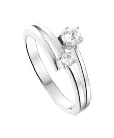 Zilveren ringen zirkonia maat 15-19
