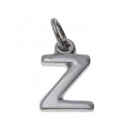 Zilver hanger letter Z