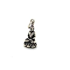 Zilveren bedel Boeddha 22 mm