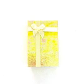 Cadeauverpakking: geel schitterend doosje 50 x 800 mm
