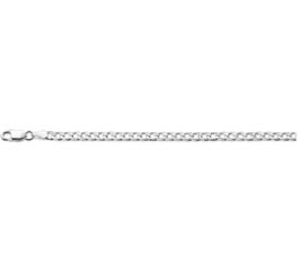 Zilveren armband gourmet 3 mm x 18-19 cm