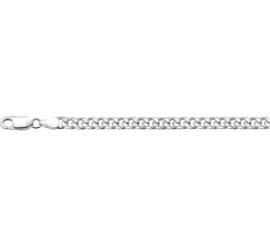 Zilveren armband gourmet 5 mm x 19-20 cm