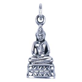 Zilveren bedel Boeddha Donderdag
