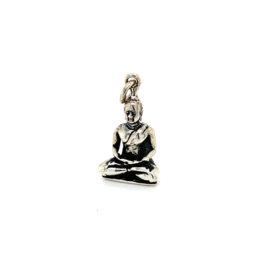 Zilveren bedel Boeddha 24,5 mm