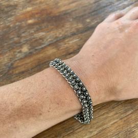 Zilveren armband 20cm x 11 mm