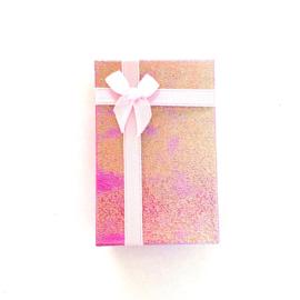 Cadeauverpakking: rose schitterend doosje 50 x 800 mm