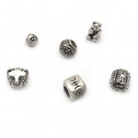 Zilveren bedels voor Pandorra schakel