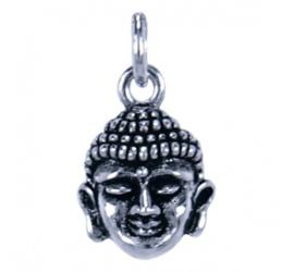 Zilveren bedel Boeddha