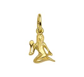Gouden sterrenbeeld maagd hanger