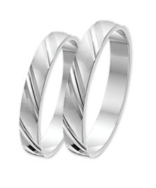 Zilveren relatiering dubbele streep