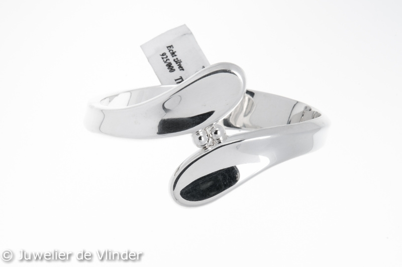 Zilveren armband Thomas 64 mm