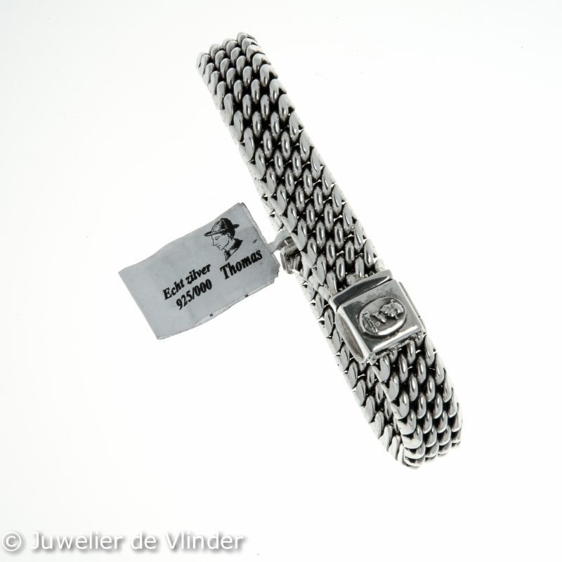 Zilveren armband 20 cm th194