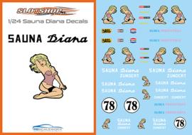 1/24 Sauna Diana Decal set