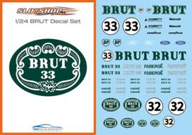 1/24 BRUT Decal set