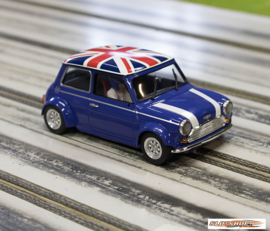 Mini Cooper - Blue Union Jack Flag Edition