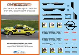 1/24 Nolte Motorsport Opel Kadett C Coupé Decals