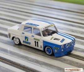 Renault R8 Gordini White Gitanes #11