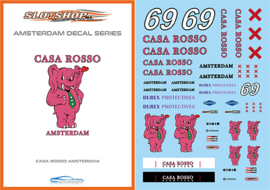 "1/24 Amsterdam Serie ""Casa Rosso"" Decals"