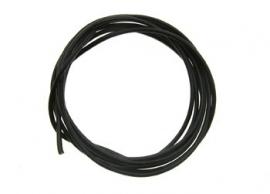 Zwart silicone draad SC1611