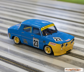 Renault R8 Gordini Yellow/Blue Renault #23