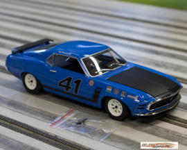 Ford Mustang Boss 302 1970 Ed Hinchcliff #41