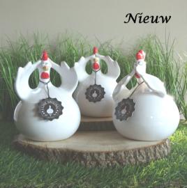 """Grote kippen """"Horen, Zien en Zwijgen"""""""